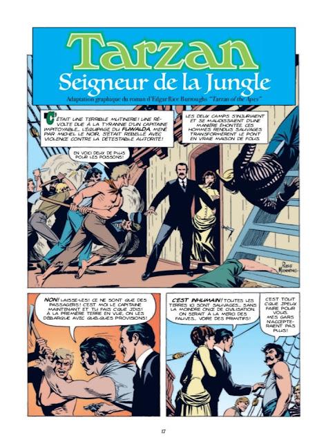 Tarzan Les années comics aux éditions Graph Zeppelin page 17