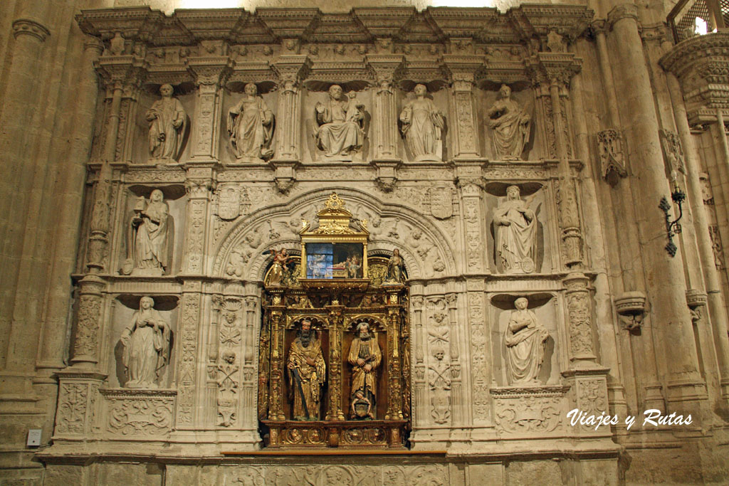 Interior de la catedral de Palencia