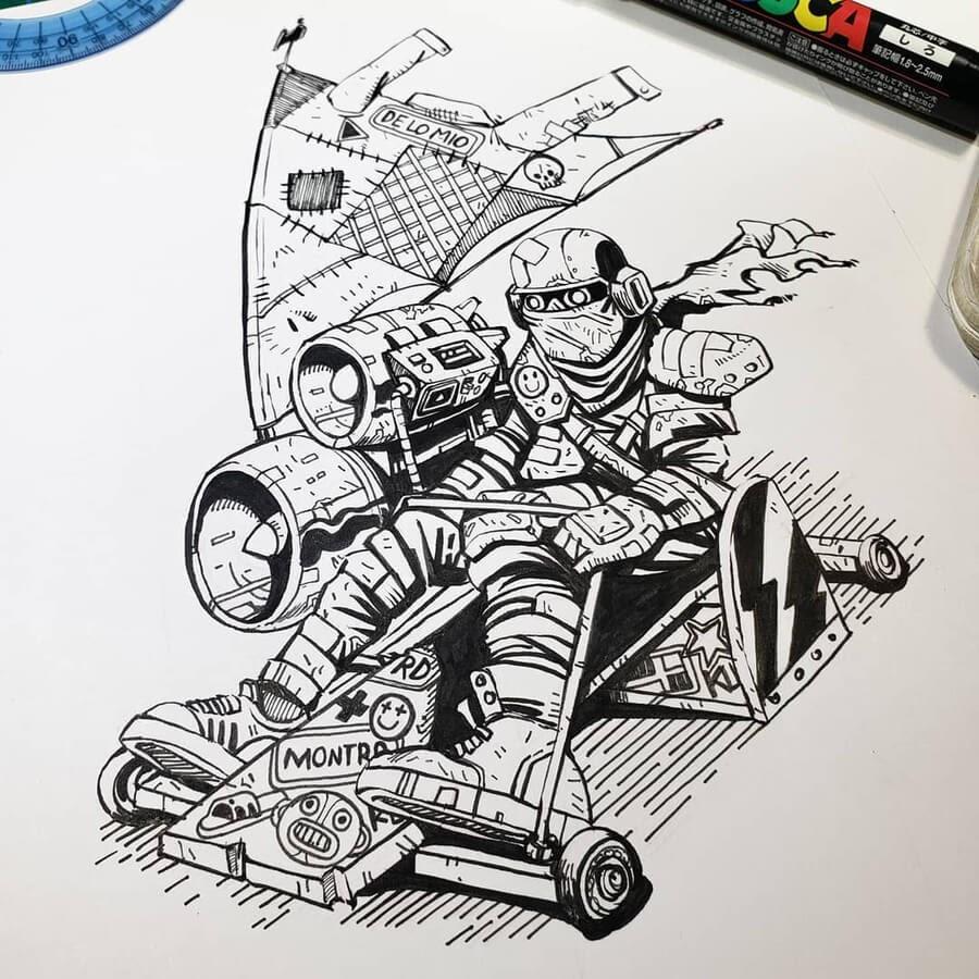09-A-kart-built-for-speed-Pedro-Josue-Carvajal-www-designstack-co
