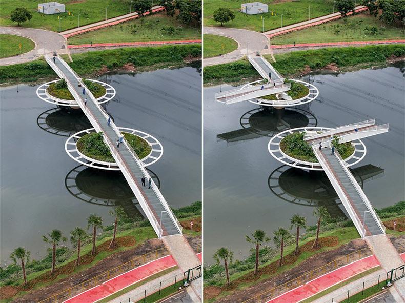 El puente móvil de Friedrich Bayer | Brasil