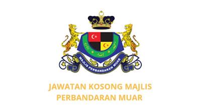 Jawatan Kosong Majlis Perbandaran Muar 2019