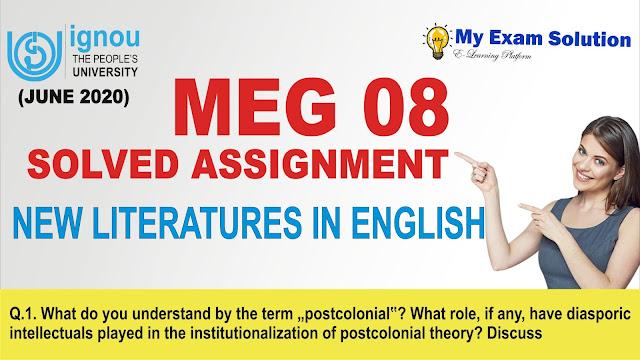 meg 08, meg assignment, assignment meg ignou