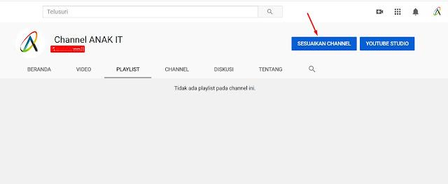 mengedit dan mengganti nama channel di youtube