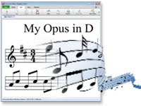 music composition notation software MIDI playback