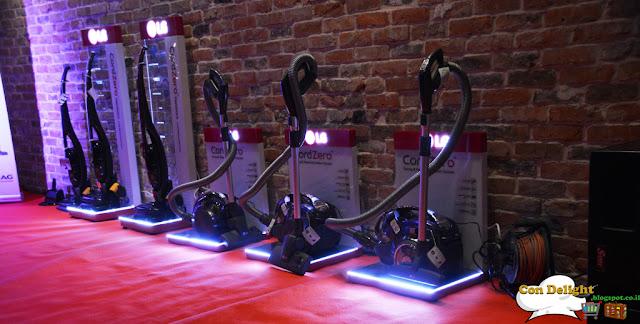 LG vacuums