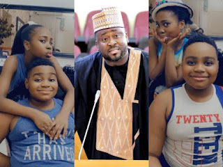 Desmond Elliot Celebrates His Twins