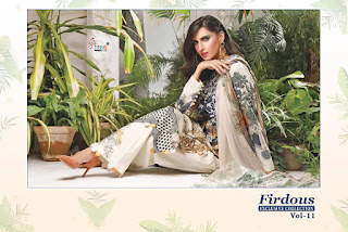 Shree Fab Firdous Exclusive Collection vol 11 pakistani Suits