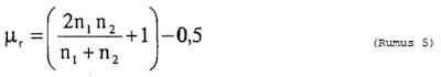 Nilai Mean untuk Sampel Kecil
