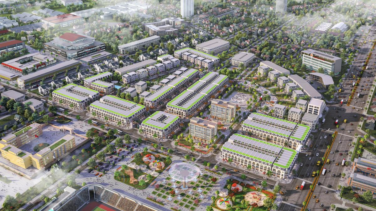 Dự án đất nền khu dân cư Phan Đình Phùng Hải Hà Quảng Ninh