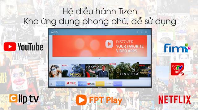 Smart Tivi Samsung 4K 43 inch UA43NU7400KXXV