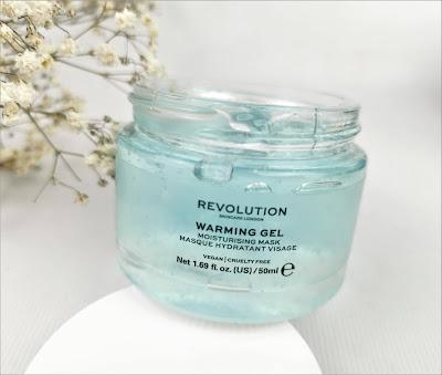 revolution skincare warming gel mask
