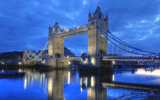 Travel Trip Journey Tower Bridge London United Kingdom