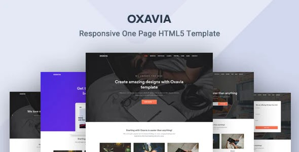 onepage professional website
