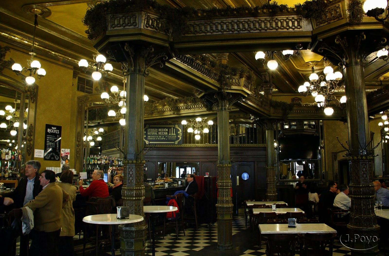 Café Iruña de Pamplona