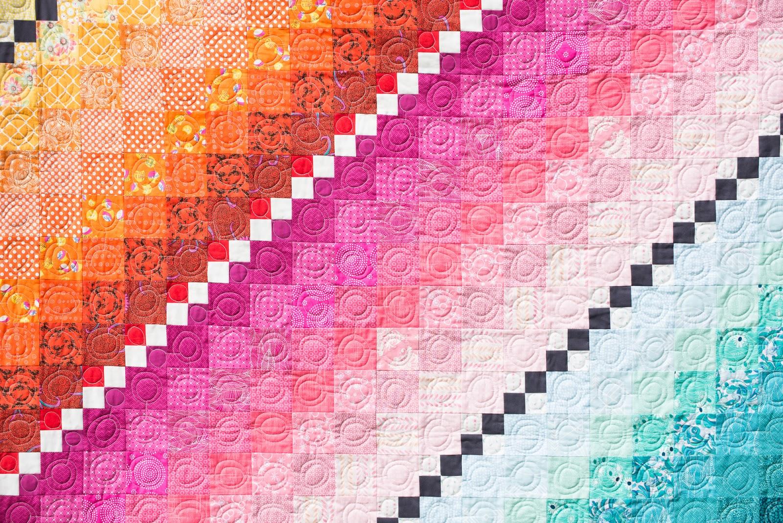 Colourwash Quilt • myBearpaw Blog by Jo Avery
