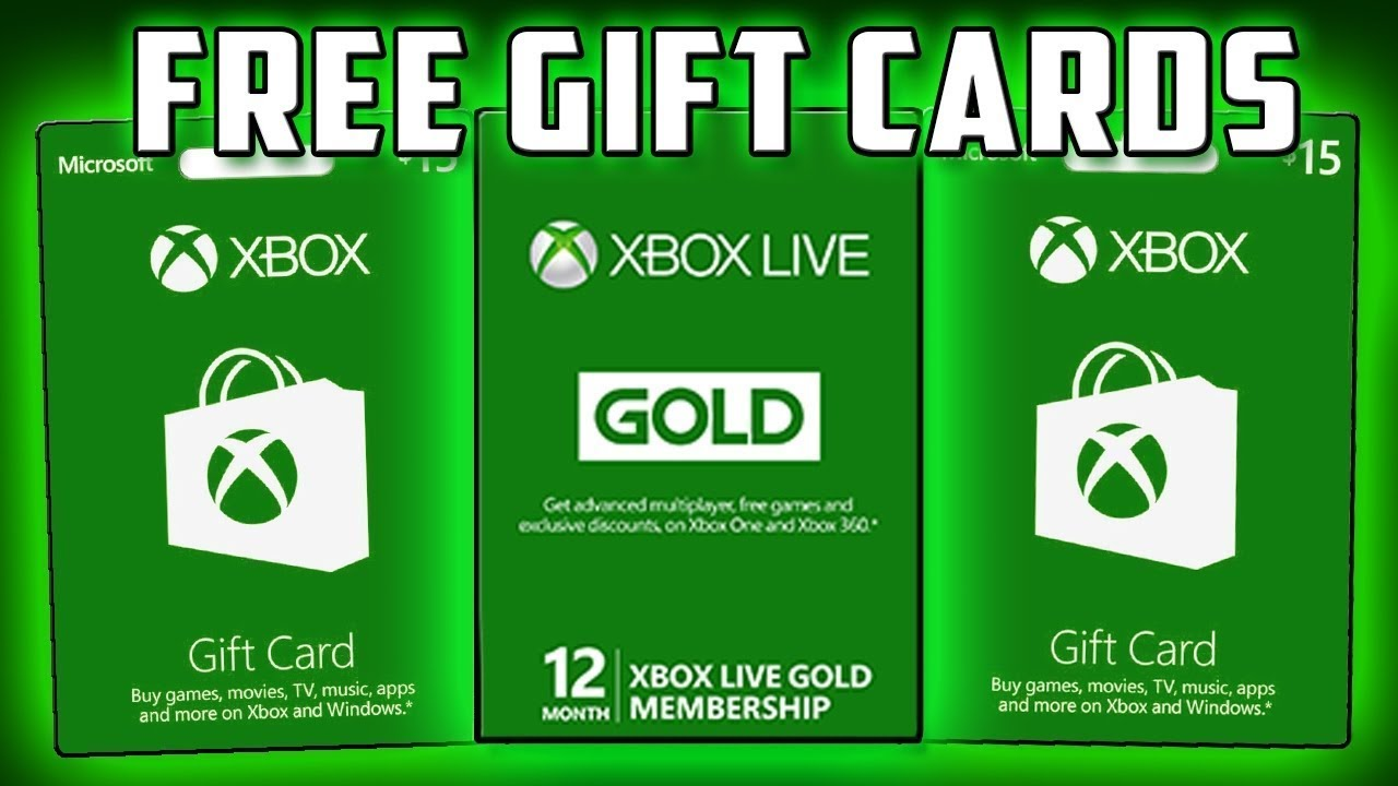 Get XBOX Gift Card For Free! 100% Working [2021]