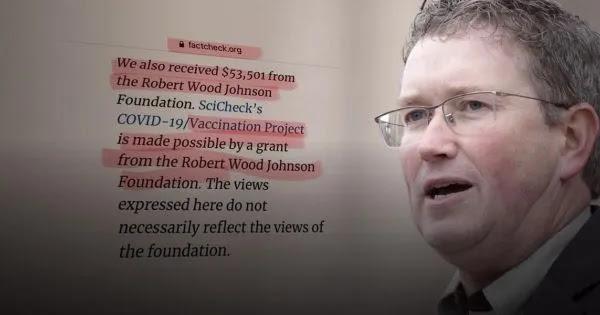 Καταγγελία γερουσιαστή:Το FactCheck.org χρηματοδοτείται από το λόμπυ των εμβολίων -Σε ποιους ανήκουν ολα αυτά ξέρει?