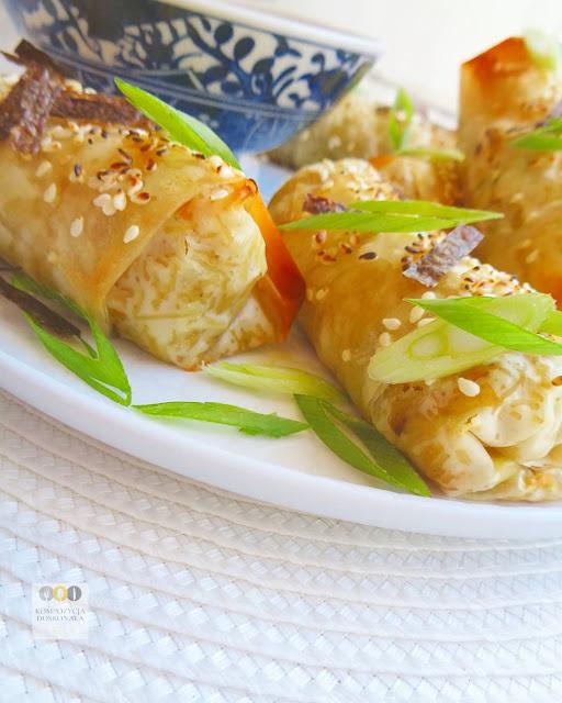 warzywne sajgonki wegetarianskie