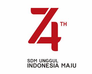 Download Logo HUT RI Ke-74
