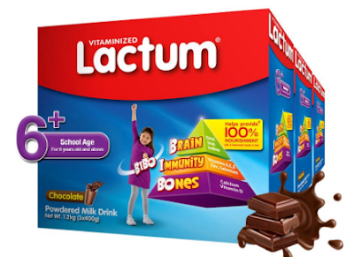 Lactum 6+ Plain Powdered Milk Drink