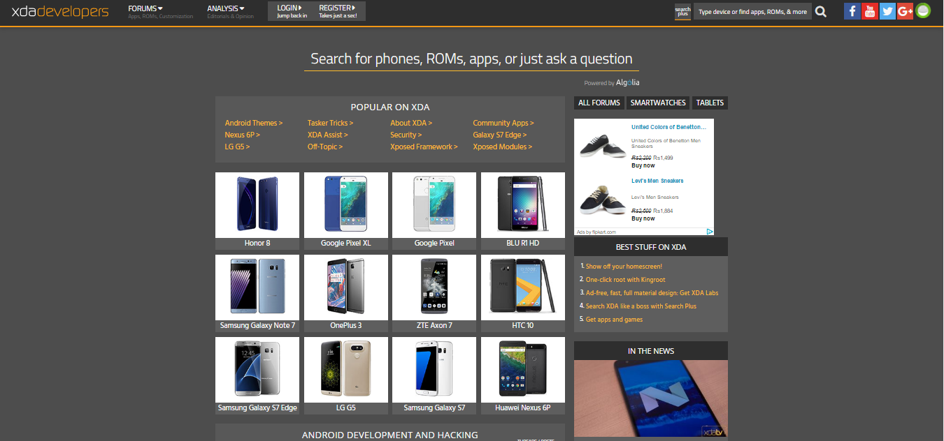 Xda Forum The Only Place You Need To Go To Make Your Android Amazing