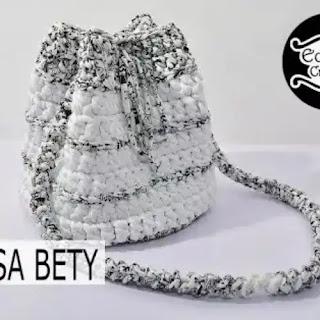 Mochila Betty a Crochet