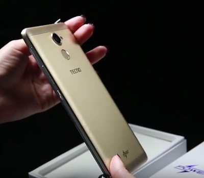 Tecno L9 Plus Unboxing, Pictures, side-view