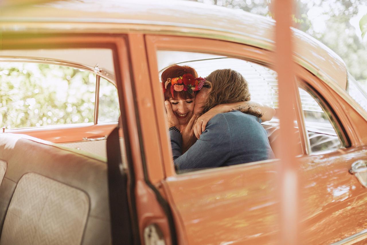 vintage car wedding transport byron bay weddings