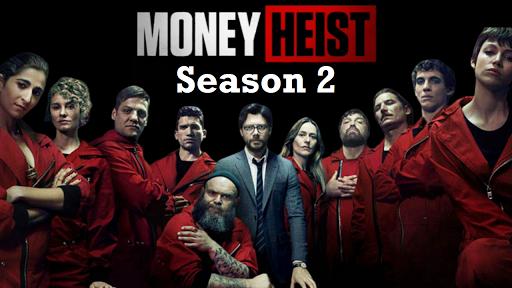 Money Heist S02 2018 banner HDMoviesFair