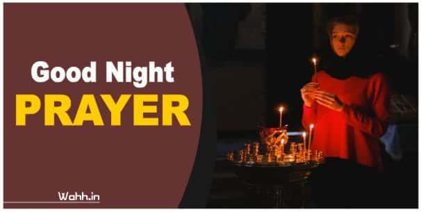 Good Night Christian Prayer In Hindi