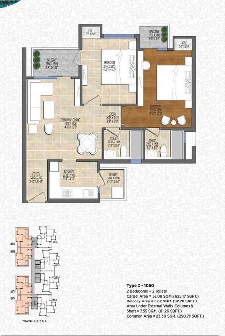 ace-divino-1055-sq.-ft.-2-BHK-floor-plan