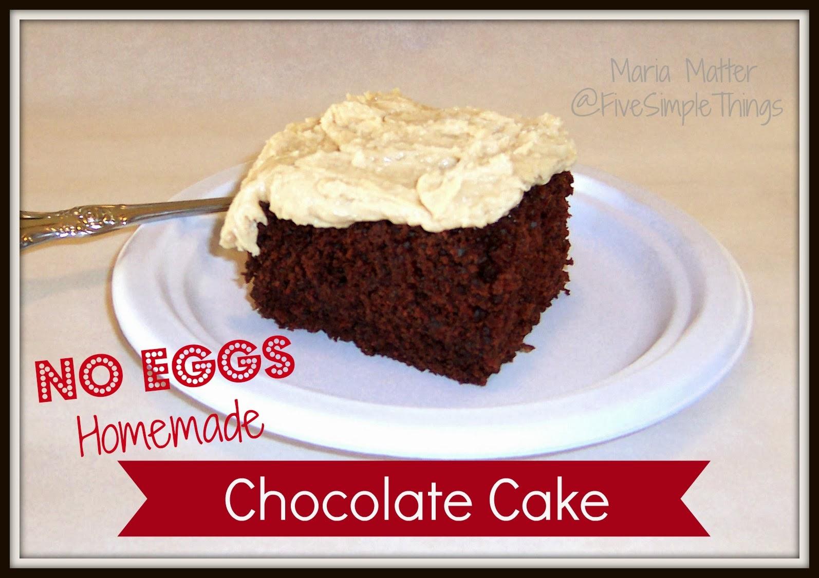 Cake In A Mug Recipes No Egg: Cake Recipe: Chocolate Cake No Eggs Recipe