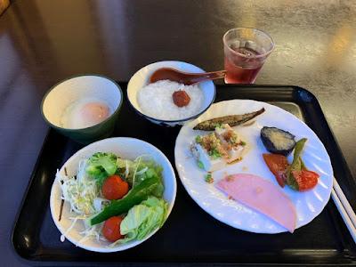 常盤館の朝食