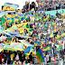 جمهور أمازيغي غفير يتأهب لمؤازة شبيبة القبايل ضد الرجاء البيضاوي في نهائي كأس الكونفيدرالية الافريقية