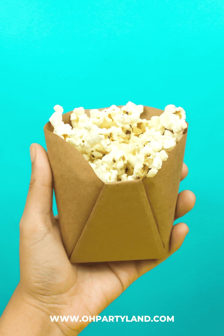 DIY Paper Snack Bags - Papercraft
