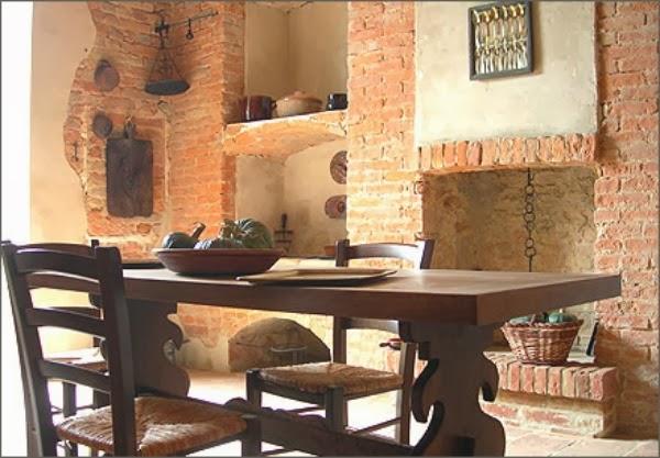 Consigli per la casa e l arredamento Taverna rustica