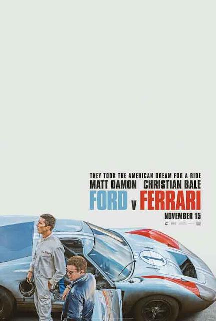 بوستر poster تريلر trailer قصة فيلم ford v ferrari