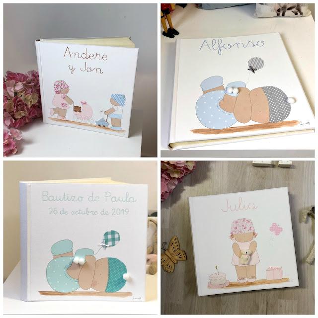 Regalos personalizados para bebés : álbumes de fotos