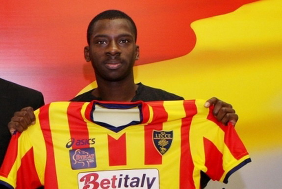 Ousmane Dramè has only made two appearances for Lecce this season