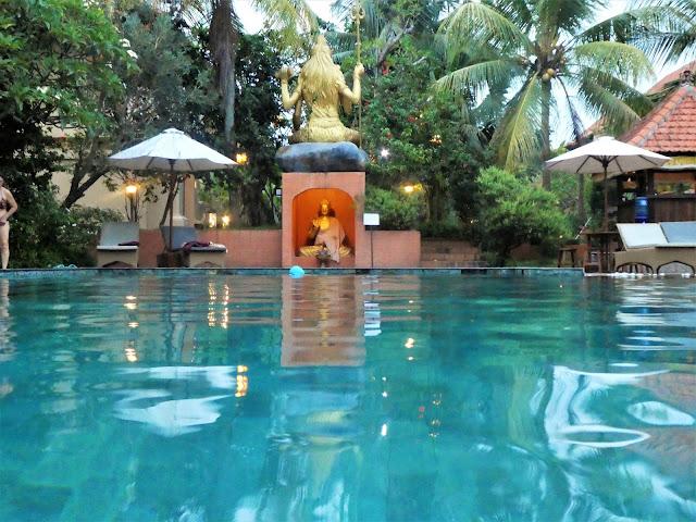 hotell med pool i Ubud