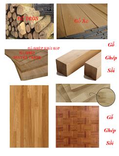 gỗ ghép sồi