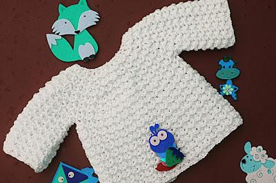 6 - Crochet Imagen Chambrita a crochet muy fácil y sencilla por Majovel Crochet