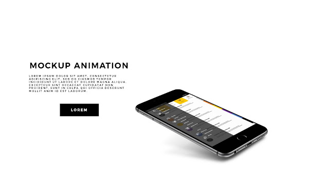 App Screen Mock-UP Animation PowerPoint Template Slide 3