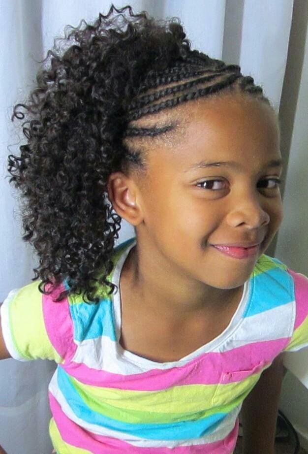 Crochet braids hairstyles for kids