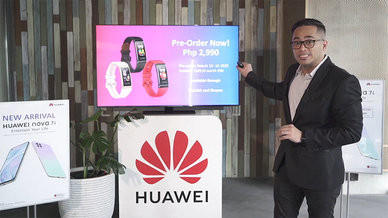 Huawei Band 4 Pro launches in the Philippines for PHP 2,990