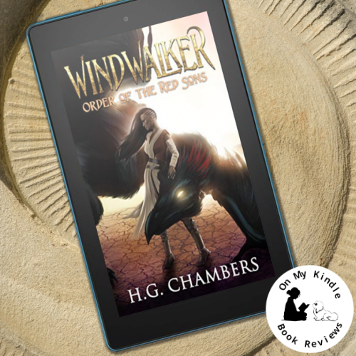 Image of Windwalker: Order of the Red Sons by H.G. Chambers on a Kindle device.