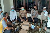Bareng Muspika, Kapolsek Cikande Takziah ke Rumah Duka Tokoh Ulama Serang Timur Kh. Janapi