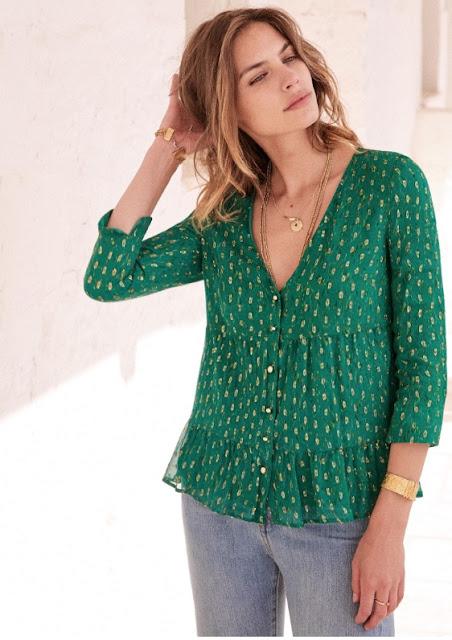 sezane anna blouse