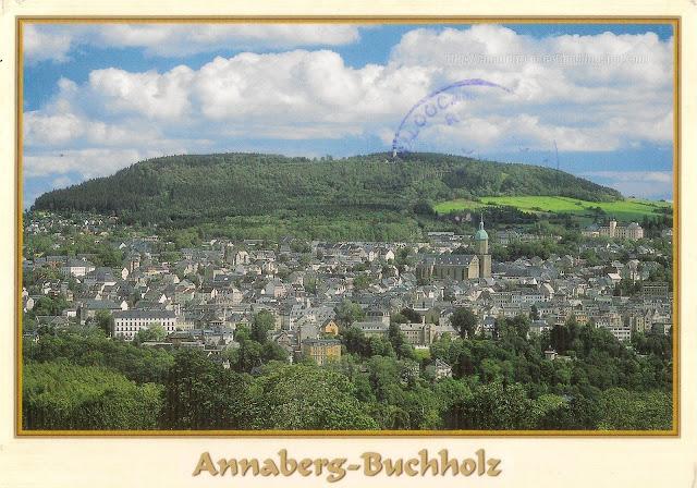Postcard from Germany | Annaberg-Buchholz, Free State of Saxony