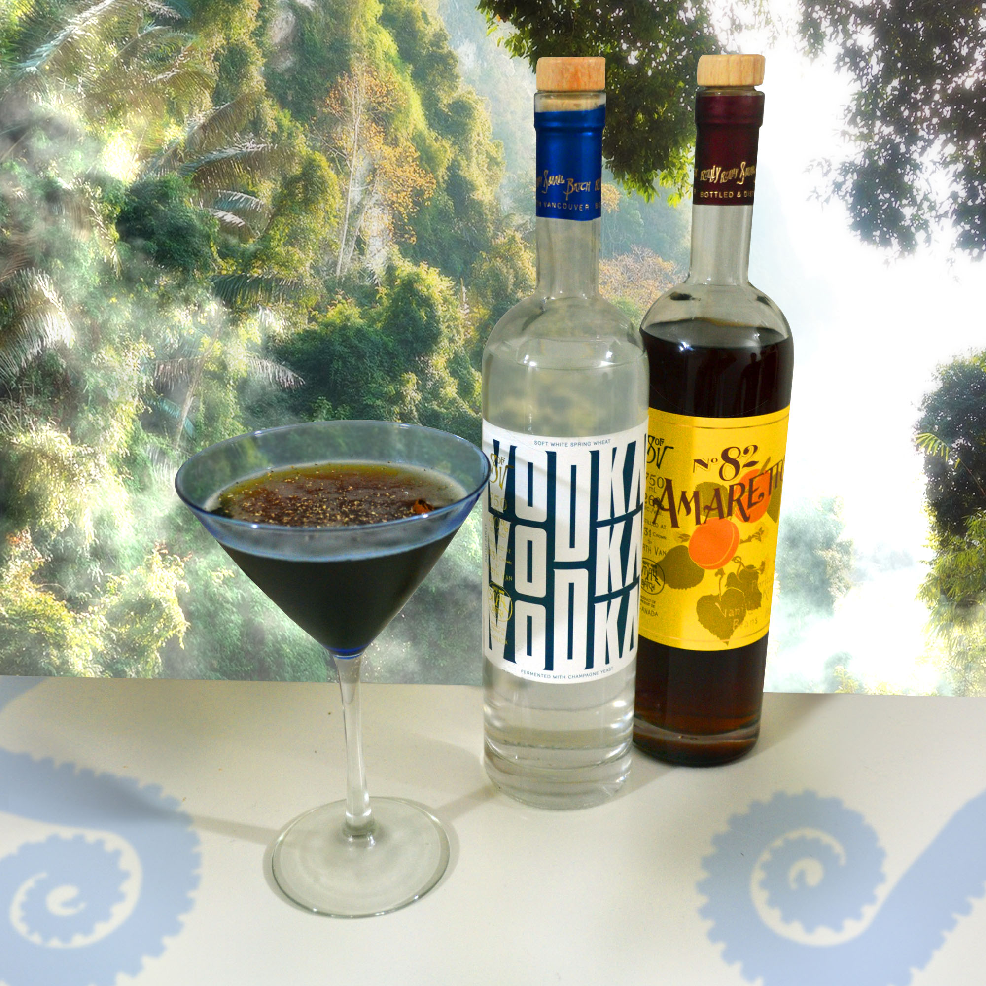 Chai Martinis featuring Sons of Vancouver Distillery Vodka